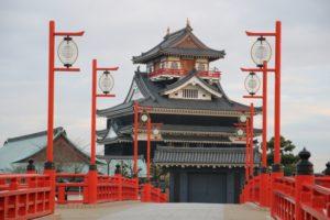 清洲城の模擬天守