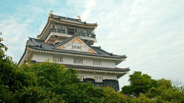 岐阜城の復興天守