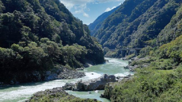 三好氏発祥の地の風景